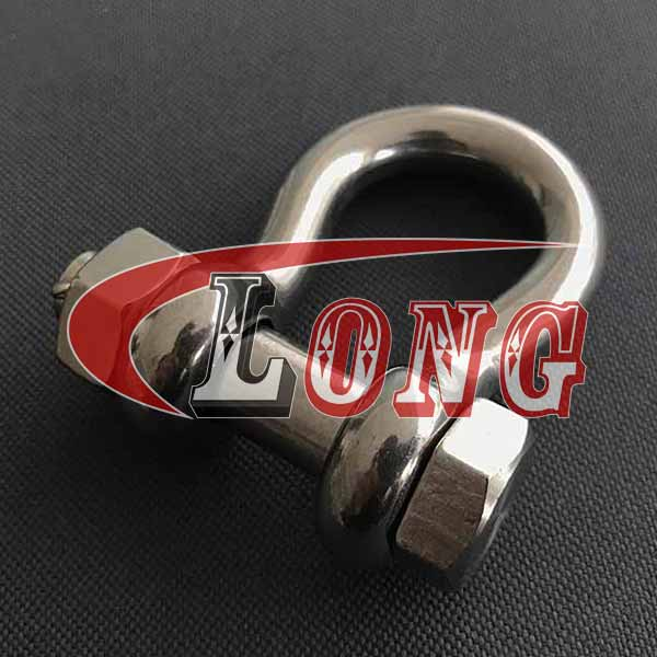 Stainless Steel Anchor Shackle Bolt Type