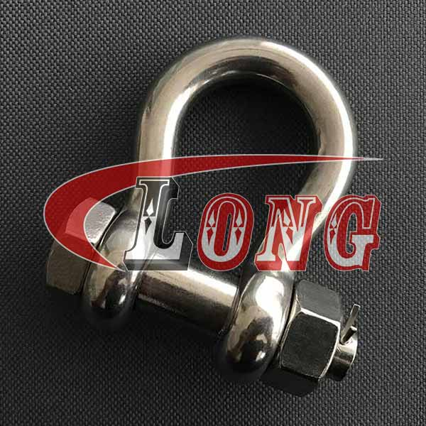 Stainless Steel Bolt Type Anchor Shackle (2)