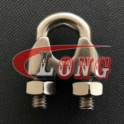 Stainless Steel Din741 Wire Rope Clips