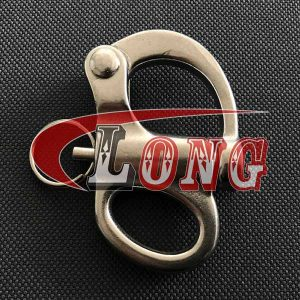Stainless Steel Fixed Snap Shackles-China LG Manufacture