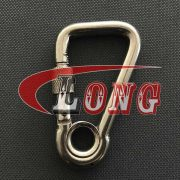 Stainless Steel Harness Clips,Square End (2)