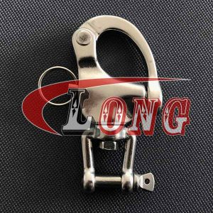 Stainless Steel Jaw Swivel Snap Shackle-China LG™