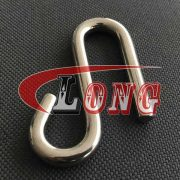 """Stainless Steel Long Arm """"s"""" Hook (2)"""