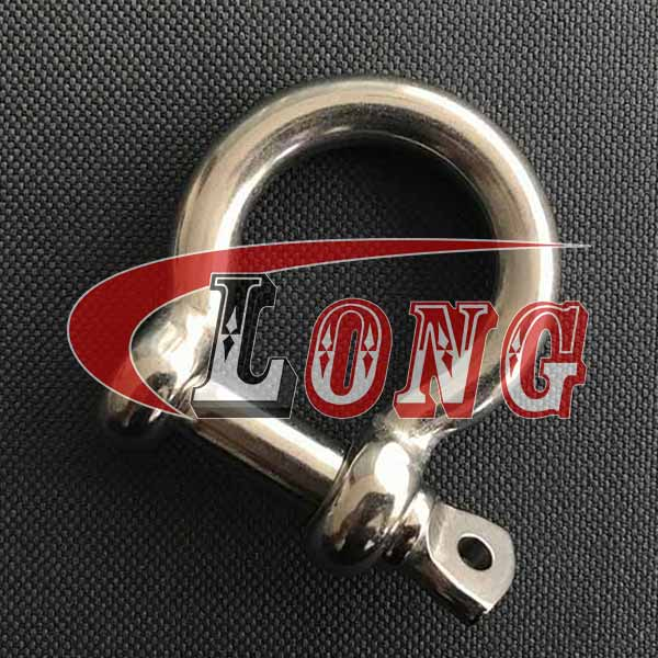 Stainless Steel Screw Pin Bow Shackles