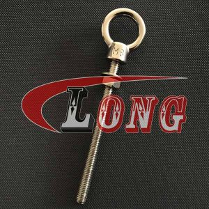 Stainless Steel Long Shank Eye Bolt-China LG Manufacture