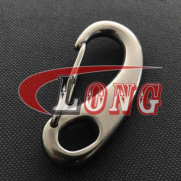 Stainless Steel Spring Snap Tack Hook