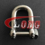 Stainless Steel Square Head Dee Shackle (2)