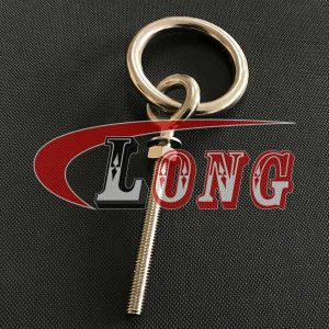 Stainless Steel Ring Eye Bolt-China LG Supply