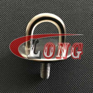 Stainless Steel Round Eye Plates with Thread Stud-China LG™