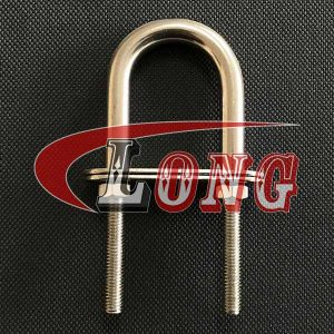 Stainless Steel U Bolt with 2 Plates and Nuts-China LG™