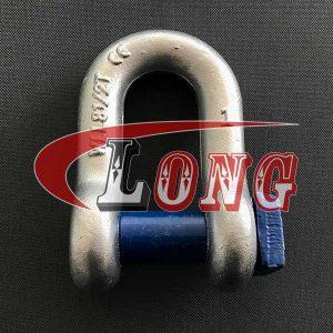 Trawling Dee Shackle Square Head Pin-China LG™
