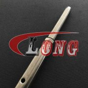 MM STAINLESS STEEL RIGGING SCREW MACHINED FORK AND SWAGED STUD