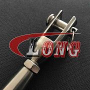 Stainless Steel Machined Fork Terminal Rigging Screw