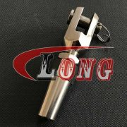 STAINLESS STEEL WIRE ROPE SWAGELESS JAW FORK TERMINALS