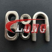 Stainless Steel Wire Rope Clip DIN 1142-china
