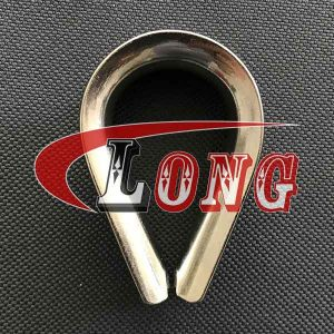 Stainless Steel Wire Rope Thimble Italian Type-China LG Supply