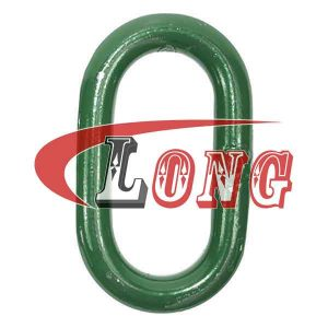 Steel Master Oval Ring Link-China LG Manufacture
