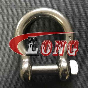 Stainless Steel Square Head Pin Bow Shackle-China LG™