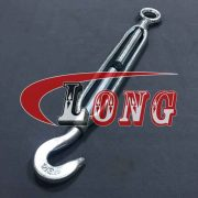 Hot Galvanized Steel Frame, Drop Forged Ends Turnbuckle