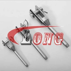 Stainless Steel Swage Machined Fork Terminal-China LG Manufacture