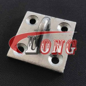Galvanised Staple Eye on Plate-China LG Supply