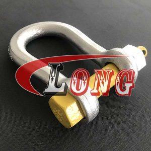 Mooring Shackle Bolt Type Pin-China LG Manufacture