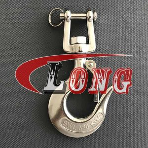 Clevis Swivel Hook with Latch Stainless Steel-China LG™