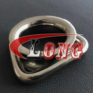 Stainless Steel D Ring Thimble Round Sheave Wire Rope