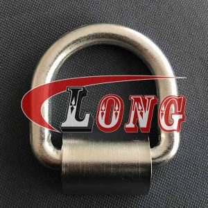 Drop Forged Weld-on D-Ring Stainless Steel-China LG™